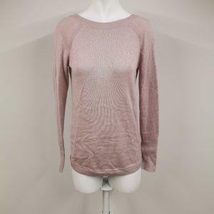 Lululemon Unity Drop Back Sweater Smoky Blush